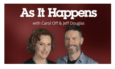 "Click to hear David talk to Carol Off in this AIH ""tour de for'st"" at 33:40"